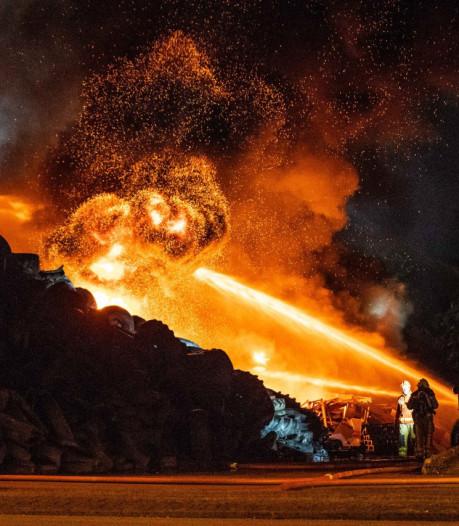 Betere brandveiligheid van afvalverwerkers is lastig te verplichten: wetgeving ontbreekt