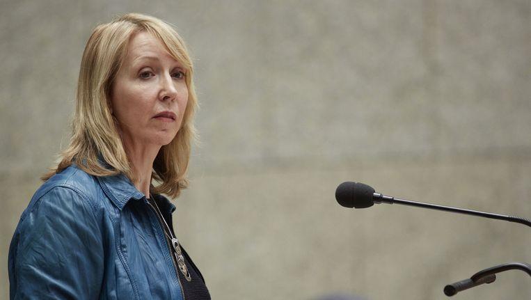 GroenLinks-Kamerlid Liesbeth van Tongeren. Beeld null
