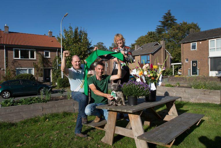 Theo de Bruijn, Wanka Lelieveld (midden) en Annelien van der Meer. Beeld Maartje Geels