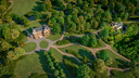 Een impressie van hoe landgoed en villa Zionsburg eruit gaan zien.