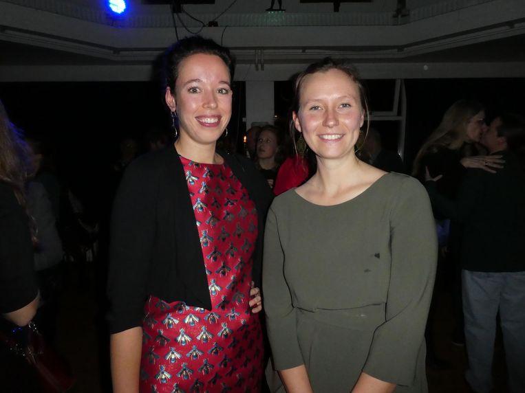 Fractievoorzitter Femke Roosma en Zita Pels, lijsttrekker Noord-Holland. Beeld Hans van der Beek