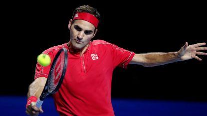 Federer wint voor een tiende keer in Basel, Thiem is beste in Wenen - Osaka begint met overwinning in WTA Finals