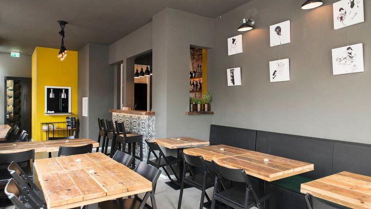 Sineri en d'Amore willen de zaak zijn voor het Italiaanse borreluur, maar ook voor een avondvullend diner Beeld Charlotte Odijk