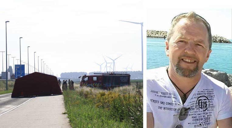Marc Buytaert werd in Vrasene aangereden door een vrachtwagen.