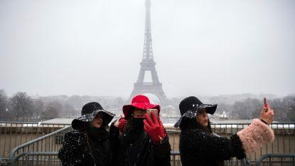 Code oranje in Frankrijk: Eiffeltoren dicht wegens winterweer