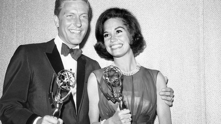 Moore op de Emmy's in 1964. Beeld ap