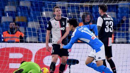Napoli blaast titelstrijd in Serie A nieuw leven in met verrassende zege tegen Juventus