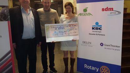 Rotary Overijse-Zoniën schenkt 10.800 euro aan De Berken