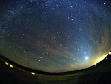 Komende nachten uitbundige sterrenregen te zien