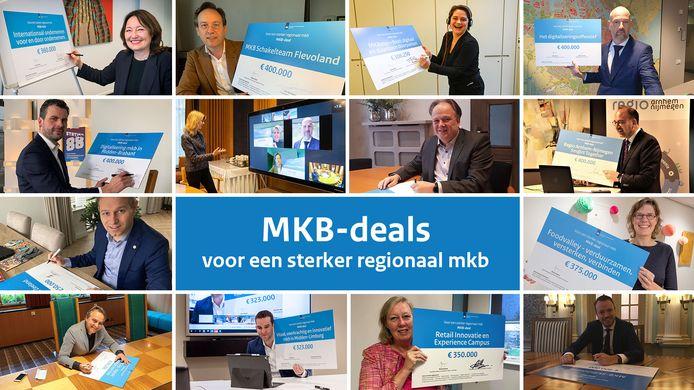Digitale uitreiking geld voor mkb-deals.