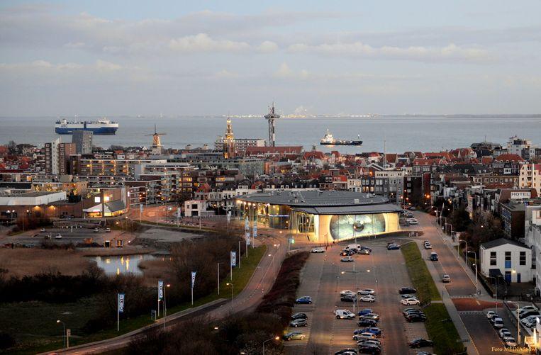 Overzicht van Film by the Sea in Vlissingen. Beeld Lex de Meester