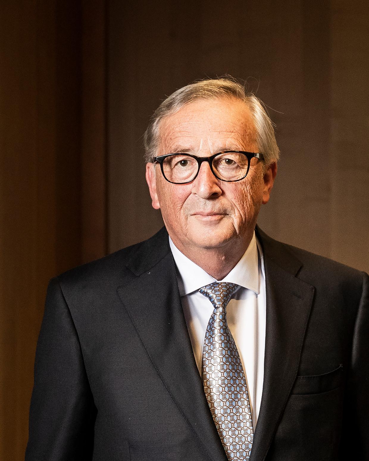 Jean-Claude Juncker: 'Ik dacht Cameron te helpen door mijn mond te houden. Dat was een grote vergissing. Er zijn zo veel leugens verteld door de Brexiteers tijdens de referendumcampagne.' Beeld Jiri Büller