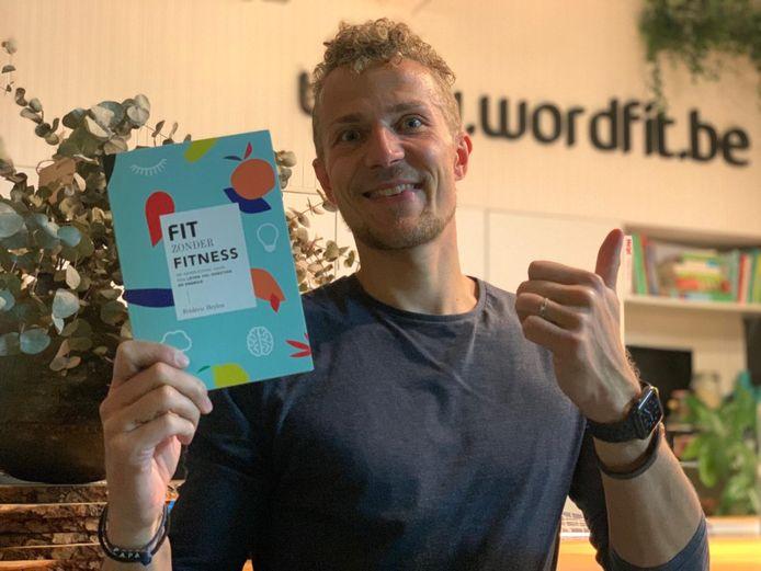 Fitheidcoach Frédéric Heylen lanceerde zijn eerst boek.