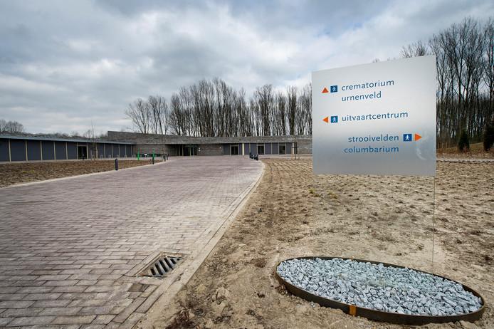 Het crematorium en uitvaartcentrum Waalstede in Nijmegen. In de nabije toekomst zijn de inwoners van de gemeente Lingewaard daar niet meer op aangewezen.