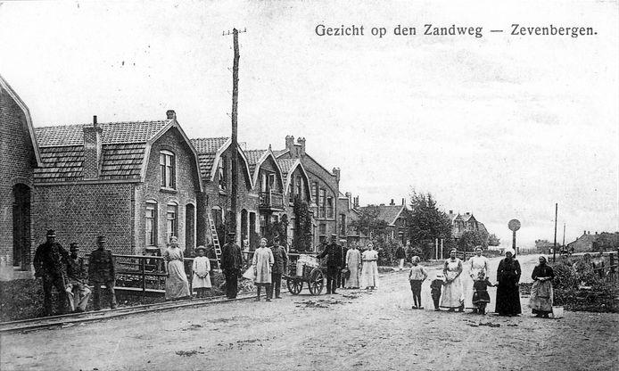 Heemkundekring Willem van Strijen, Zevenbergen: de Hazeldonkse Zandweg in vroeger tijden.