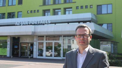 Een coronapatiënt op intensieve zorgen AZ Jan Portaels