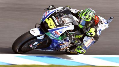 Britse MotoGP-coureur loopt enkelbreuk op bij zware val