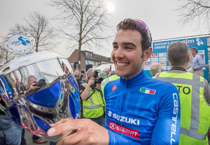 Matteo Moschetti, winnaar van de ZLM Tour.