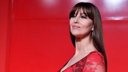 Actrice Monica Bellucci krijgt filmprijs in Brussel