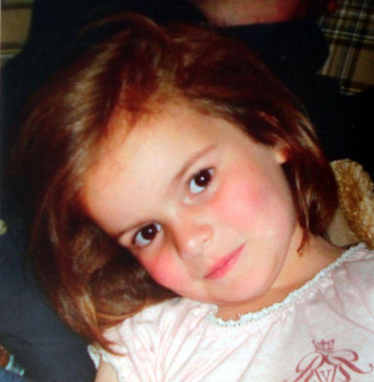 Alexine Clarysse. Het meisje overleed in 2011.