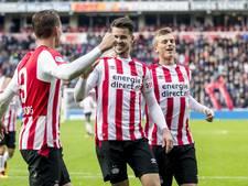 PSV was nog niet één wedstrijd constant