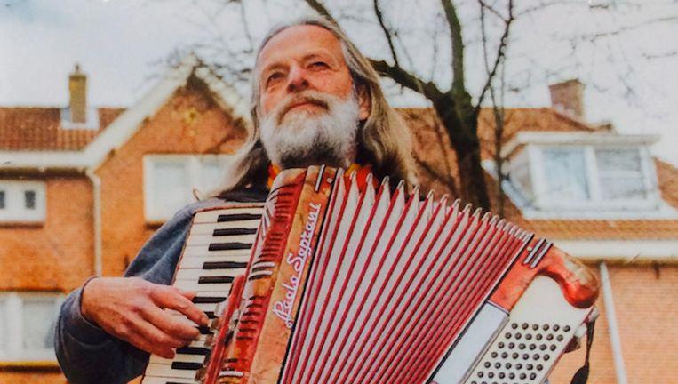 Jos de Rooij op de hoes van zijn vorig jaar verschenen album over Amsterdam Noord Beeld -