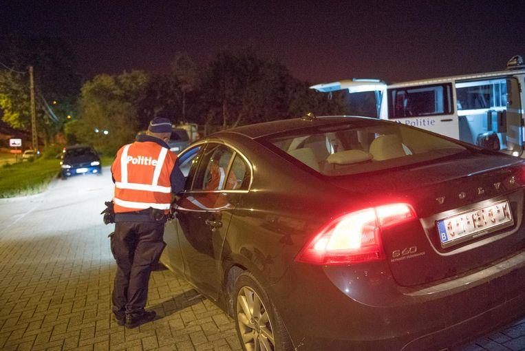 De politie controleerde 180 chauffeurs na de Werktuigdagen.