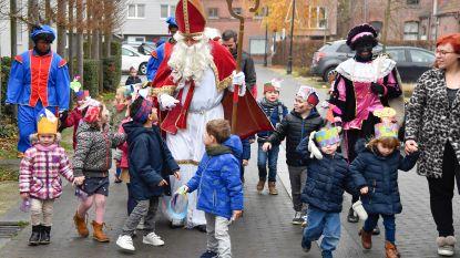 Sinterklaas en zwarte pieten gespot in Durmen
