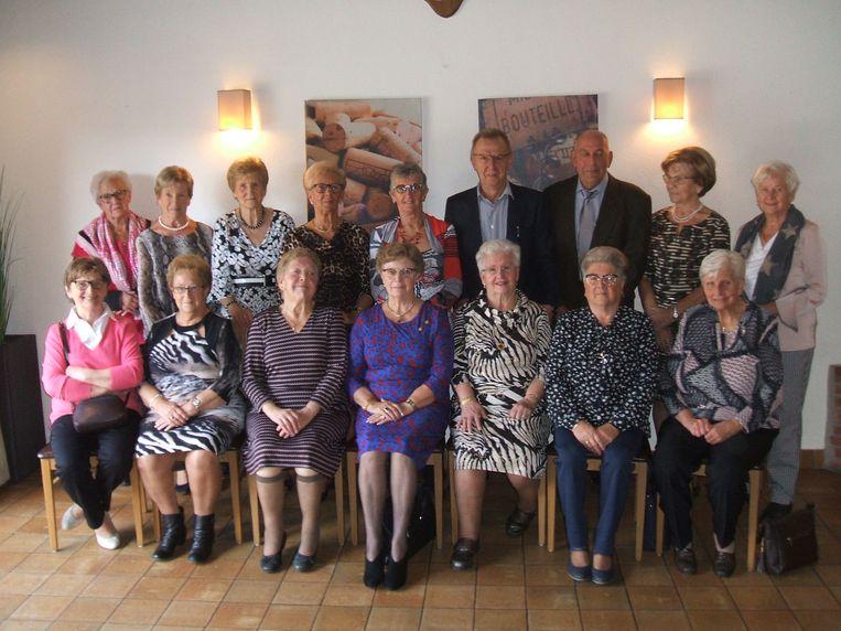 De 75-jarigen van Hansbeke.
