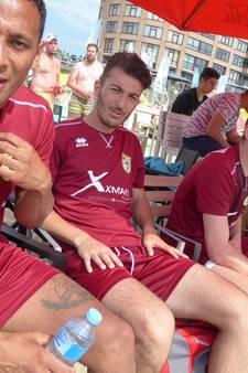 Strandvoetballer Ibrahim Eryürük mag niet drinken vanwege ramadan
