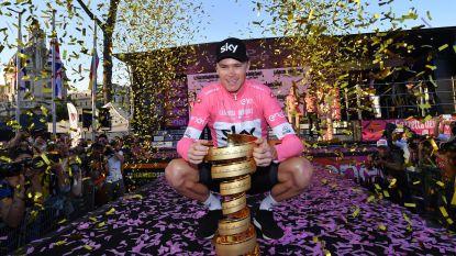 """Brailsford looft kersvers Giro-winnaar Froome: """"Waarschijnlijk de beste prestatie in zijn carrière"""""""