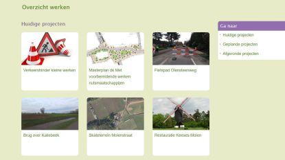 Alle werken in Kasterlee voortaan gebundeld op website van gemeente