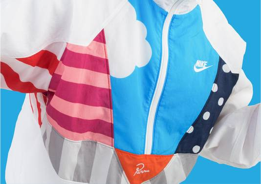 Het resultaat van de nieuwe samenwerking tussen Nike en de Nederlandse kunstenaar Piet Parra.