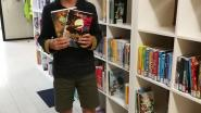 Stan is jarig en schenkt de schoolbib een boek