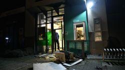 Plofkraak in bankkantoor BNP Paribas Fortis in Stabroek