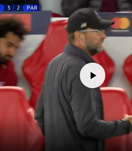 Salah gooit bidon weg na winnende goal Firmino