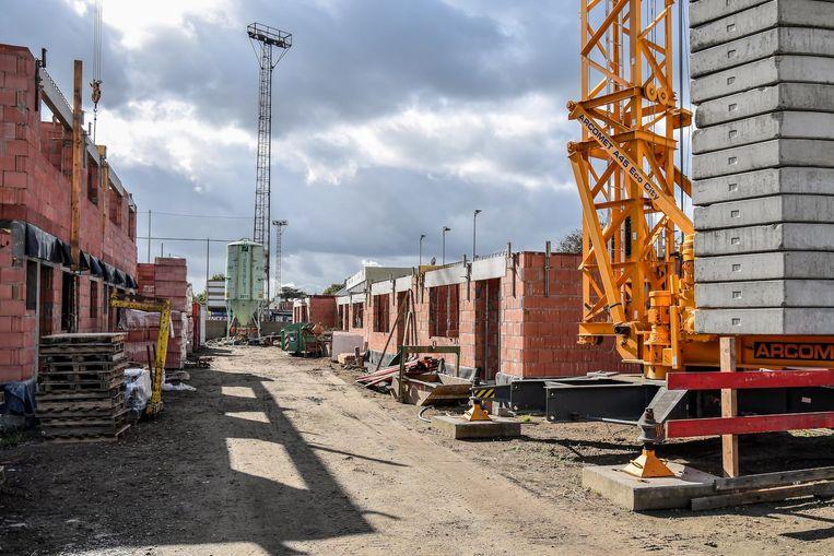 In Dendermonde wordt al volop werk gemaakt van sociale woningen, zoals aan de Krekelhoek in Grembergen. En er komen nog extra projecten bij.