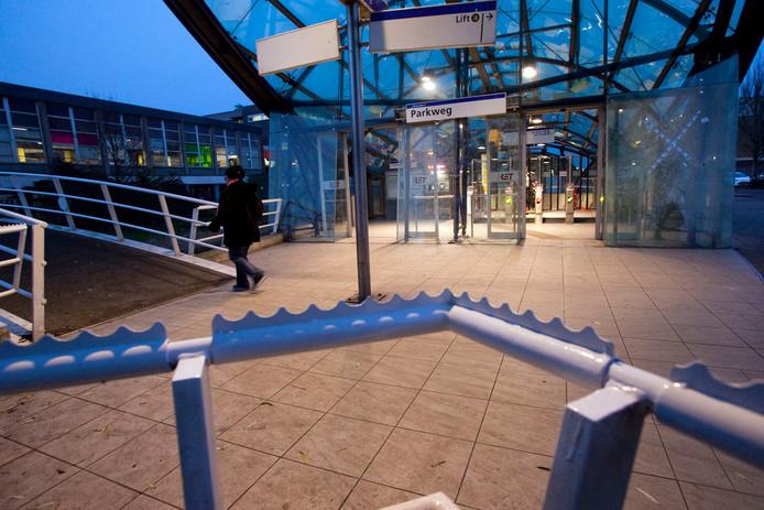 Metrostation Parkweg, Schiedam.