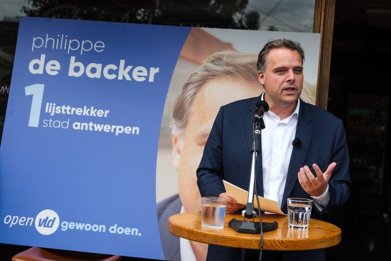 Philippe De Backer (Open Vld).