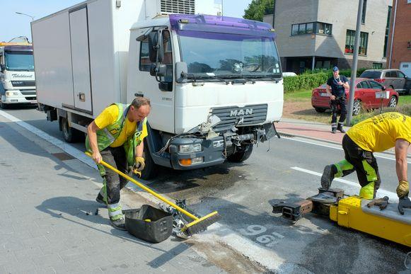 ongeval Mechelsesteenweg Sterrebeek