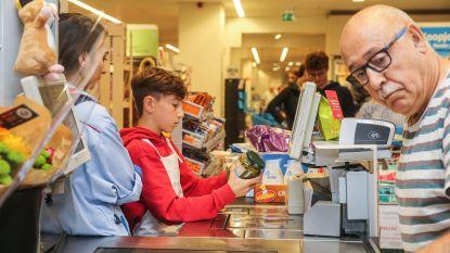 Elf- en twaalfjarigen nemen Albert Heijn over