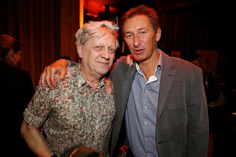 Door Van Boeckel, hier met acteur Ben Rottiers