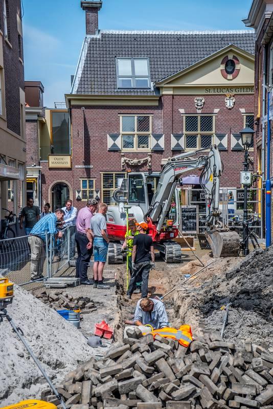 Herman Weyers vertelt over de bijzondere vondst.