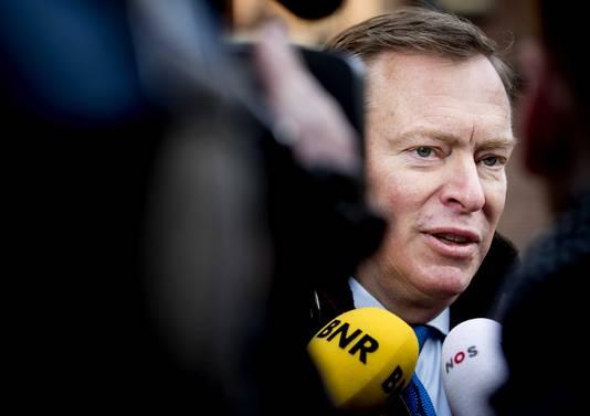 Bruno Bruins, minister voor Medische Zorg en Sport.