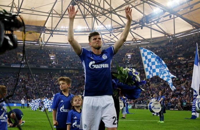 In het verleden was ook Klaas-Jan Huntelaar bij Schalke te bewonderen.