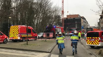 Evacuaties na waterlek en grondverzakking in Antwerpen