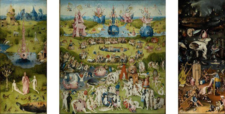 Niet te zien: Tuin der Lusten. Beeld  Collectie Museo del Prado