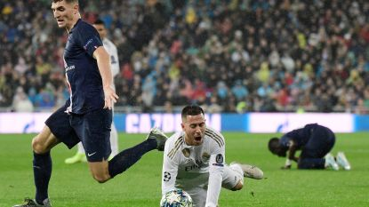 Merde Meunier! Onze chef voetbal ziet hoe verdediger Hazard eraf trapt met tik tegen de enkel in Real - PSG