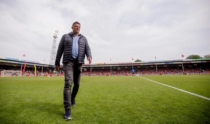 Go Ahead Eagles-trainer John Stegeman stapte niet als winnaar van het veld tegen FC Den Bosch (2-2), maar was desondanks blij met het spel van zijn ploeg.
