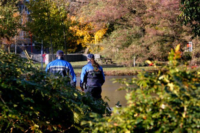 In het Gijsbert van Andelpark in Gorinchem werden extra handhavers ingezet na de mishandelingen.